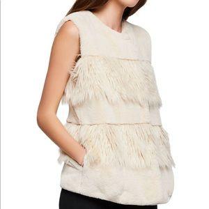 BCBGENERATION Faux Fur Vest S